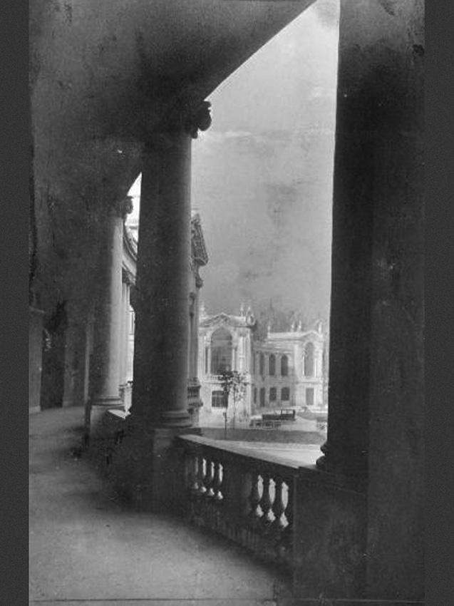 Porta Domodossola vista dalal balconata delle palazzine degli Orafi 1923