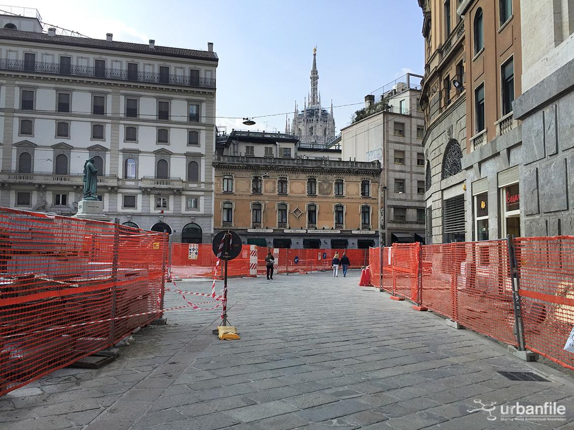 Milano pasquirolo piazza beccaria aggiornamento for Piazza beccaria