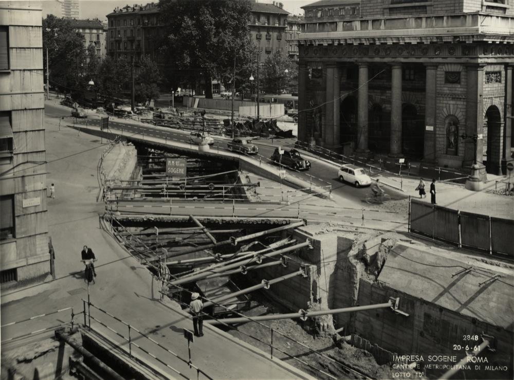 Milano porta nuova quando si decise di coprire il for Porta venezia metro