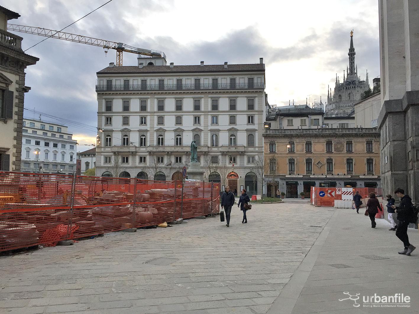 Milano pasquirolo ma che bella che sta diventando for Piazza beccaria