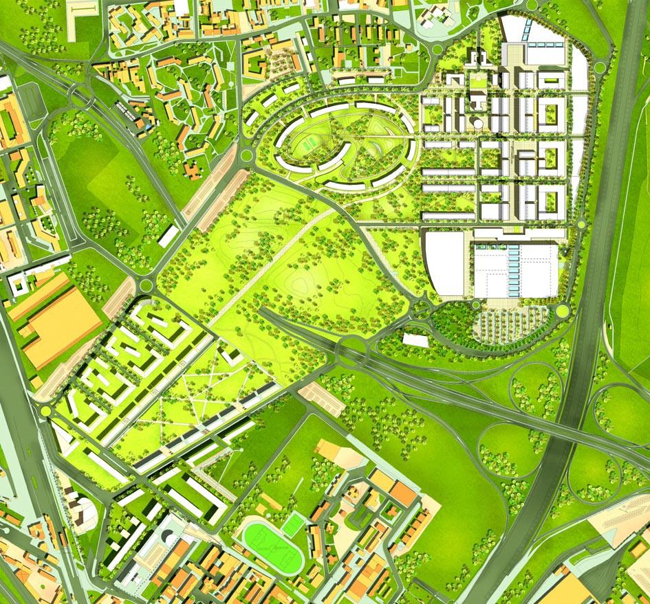 Santa Giulia il Masterplan di Norman Foster
