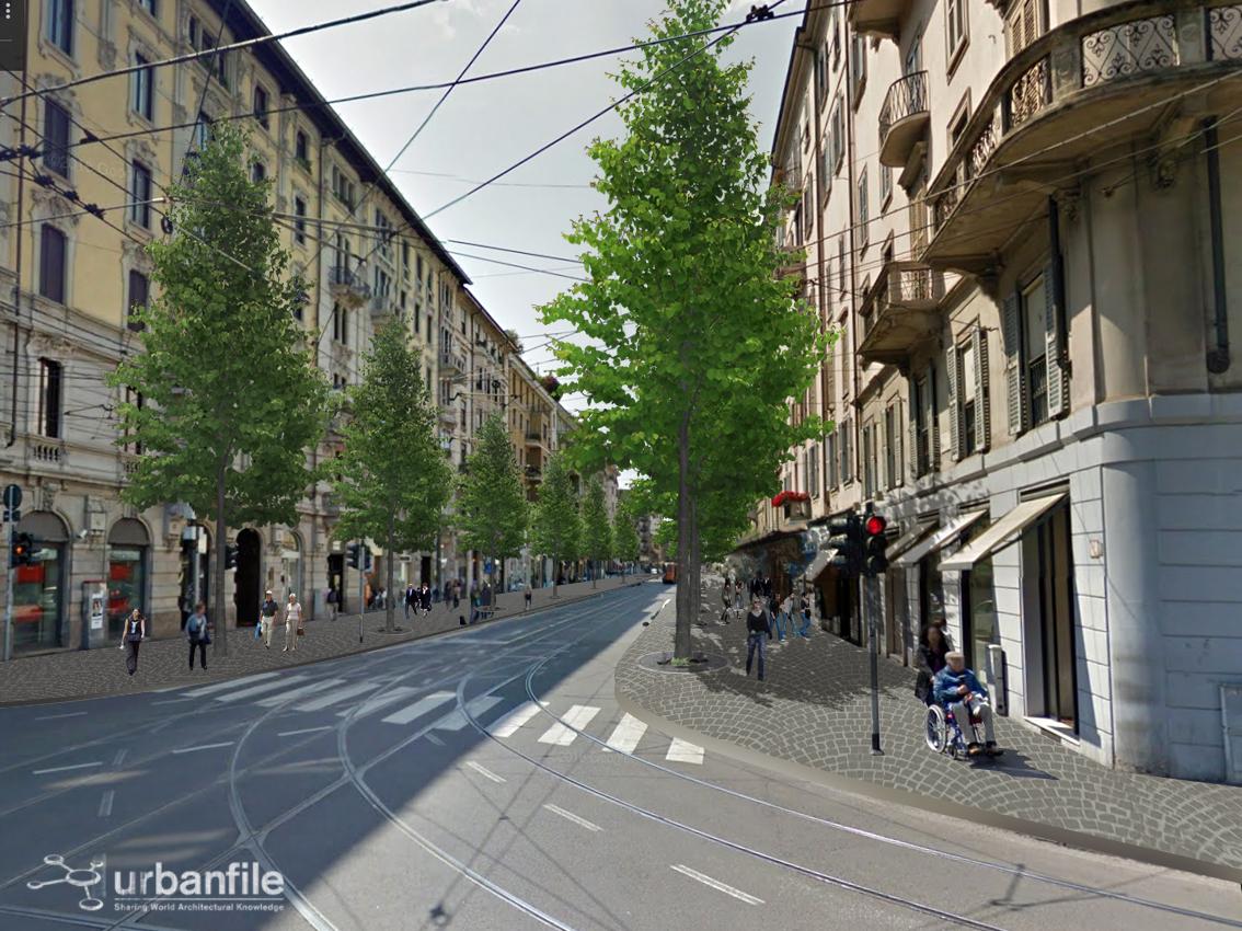 Milano porta vercellina corso vercelli in attesa di for Corso stilista milano