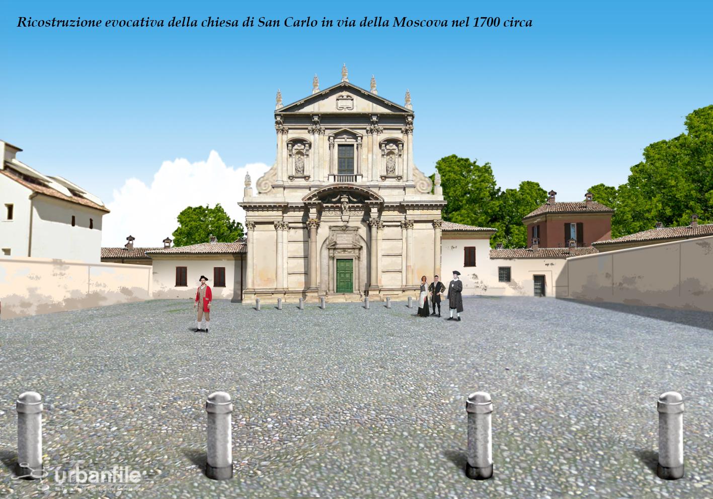 Milano porta nuova storia di un luogo da una chiesa a - Residenze di porta nuova ...