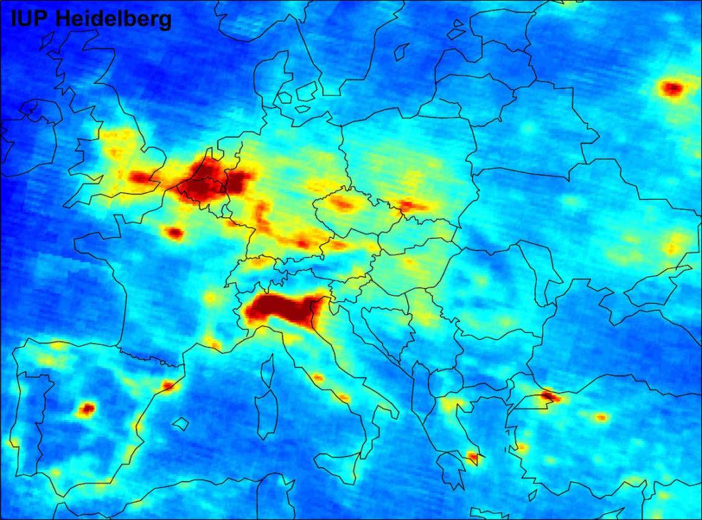 Zone più inquinate in Europa. La Pianura Padana è tra le peggiori
