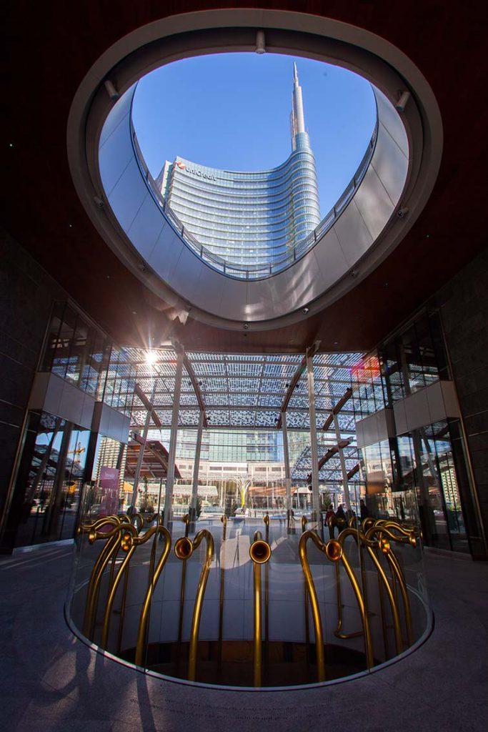 Porta Nuova Milano Italy