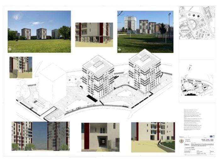 Il progetto per via Tofano