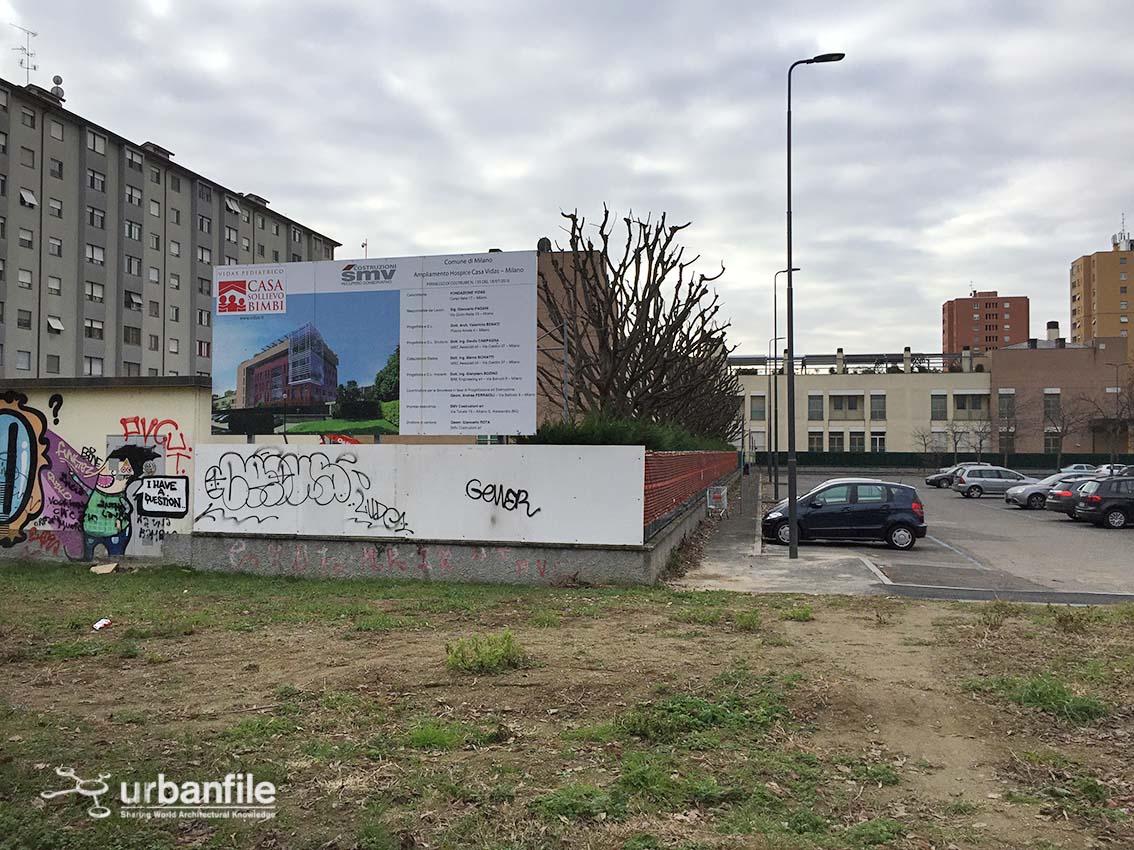 Milano bonola l 39 ampliamento dell 39 hospice casa vidas for 2 piani di casa contemporanea di storia