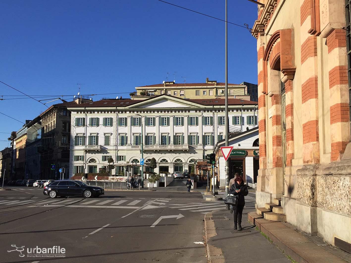Milano | Porta Nuova - Viale Monte Grappa, gioielli buttati lì ...