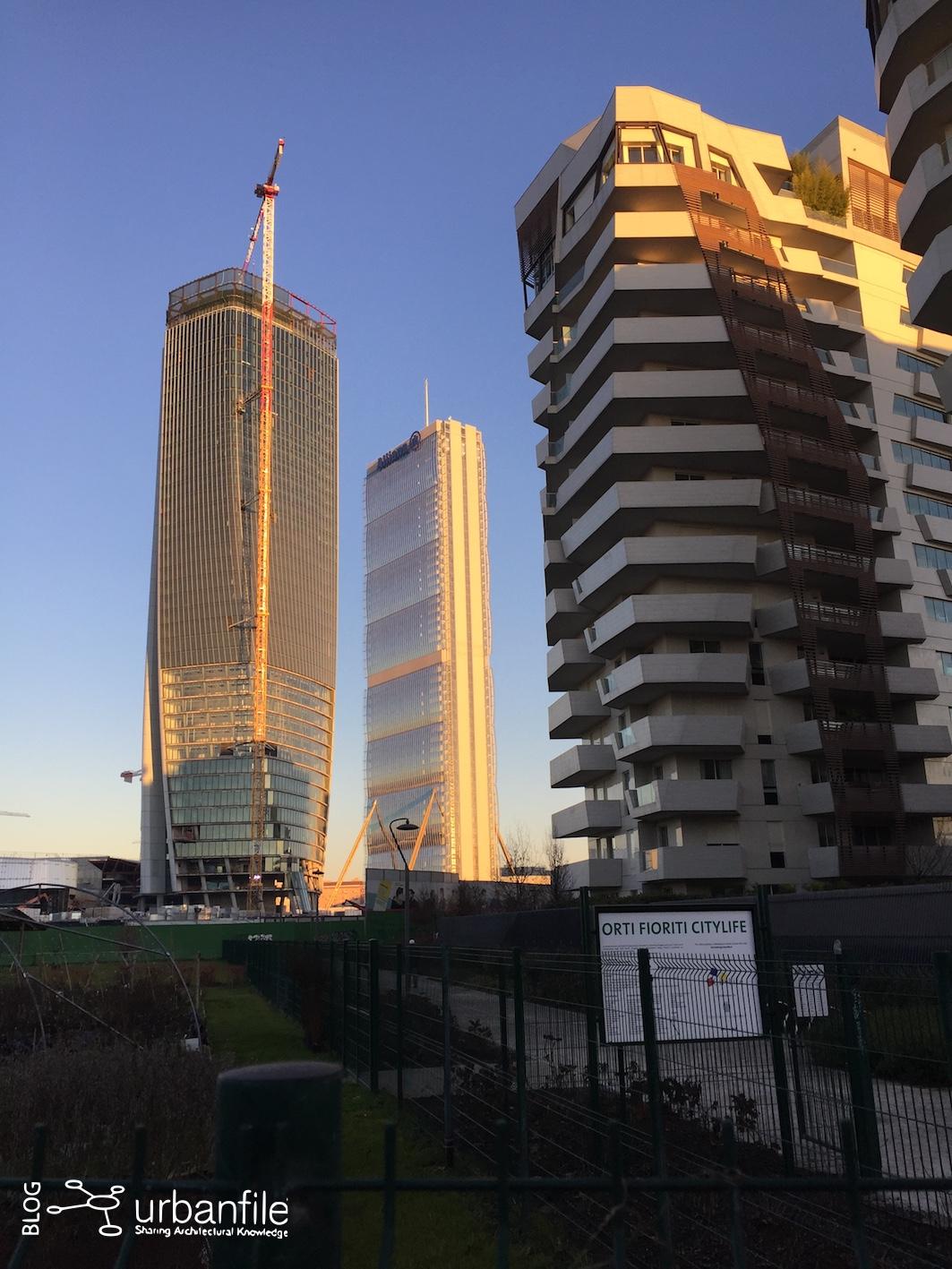 Milano tre torri cantiere citylife inizio gennaio for Prezzi city life milano