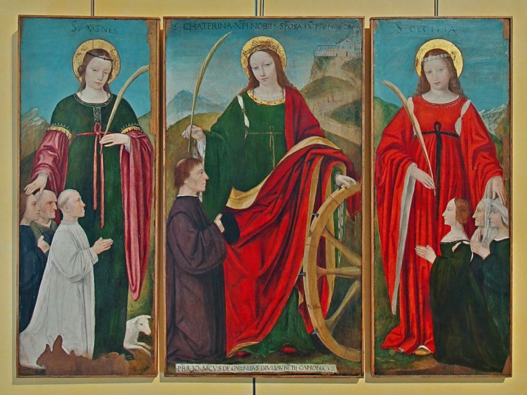 Diocesano_trittico_Bergognone_Santa_Caterina_Chiesa_Crescenzago
