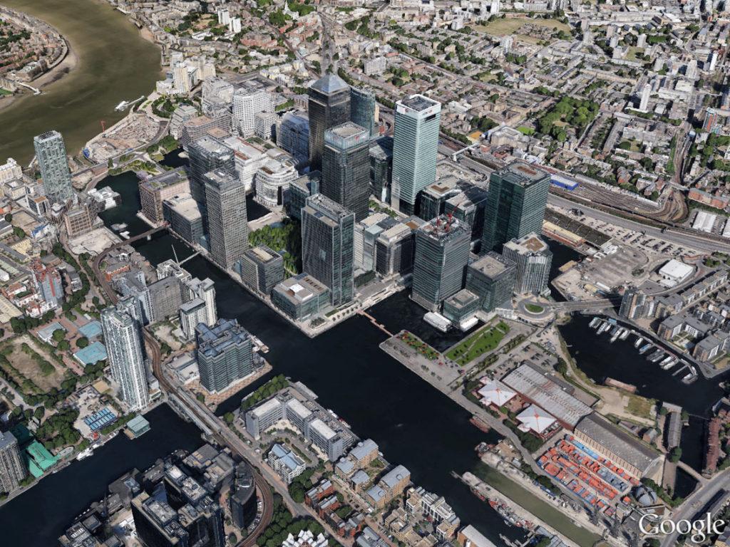 Londra_Canary_Wharf