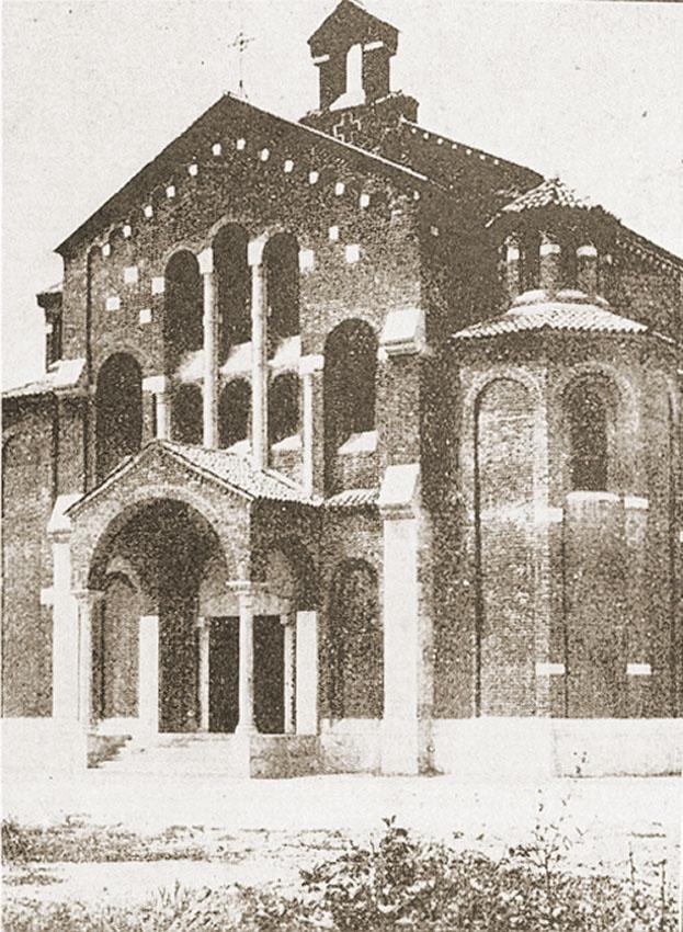 La chiesa nel 1929-30