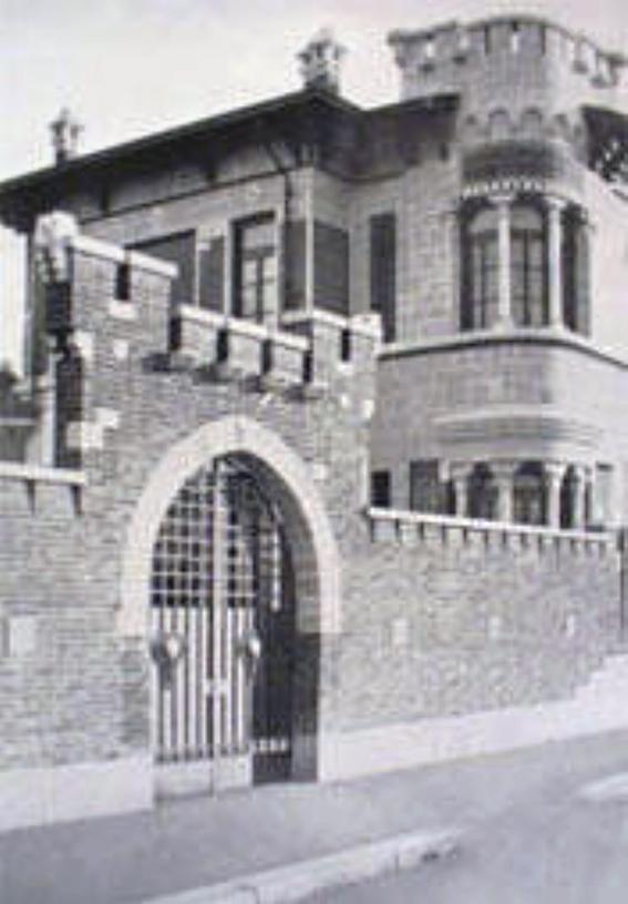 Montalbino - Via Veglia ingresso scuola Marcelline 1930