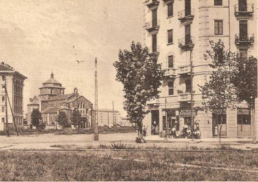Montalbino e la chiesa di San Paolo Apostolo 1929-35