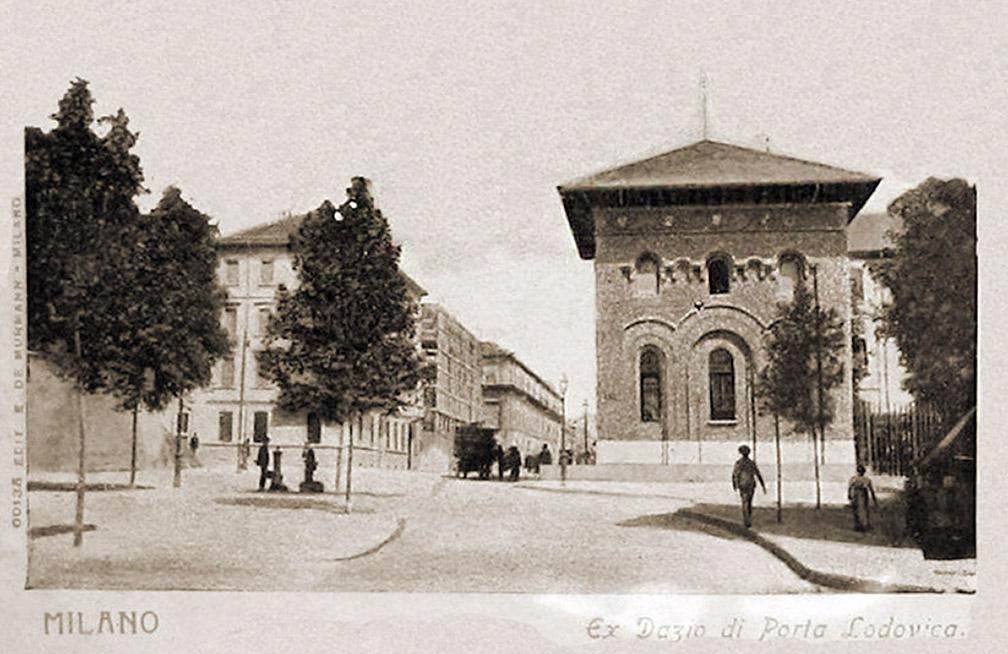 Porta Lodovica nel 1897