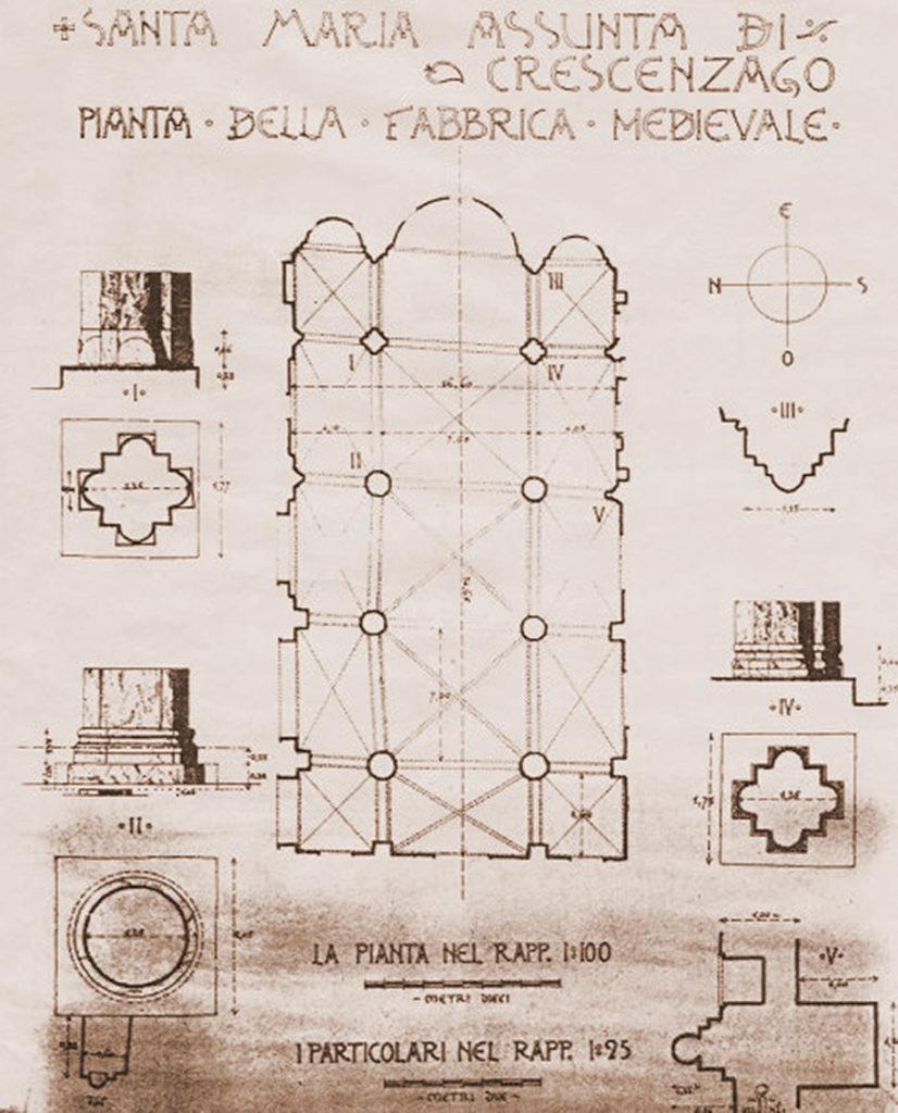 Santa_Maria_Assunta_Crescenzago_Pianta_1915