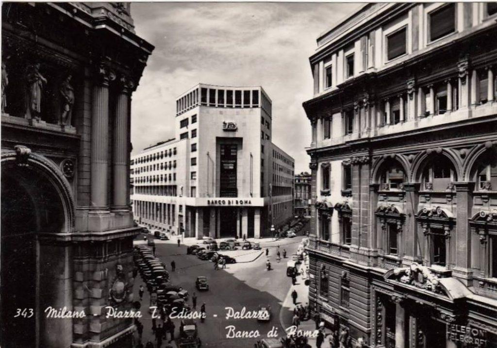 piazza edison banca di roma