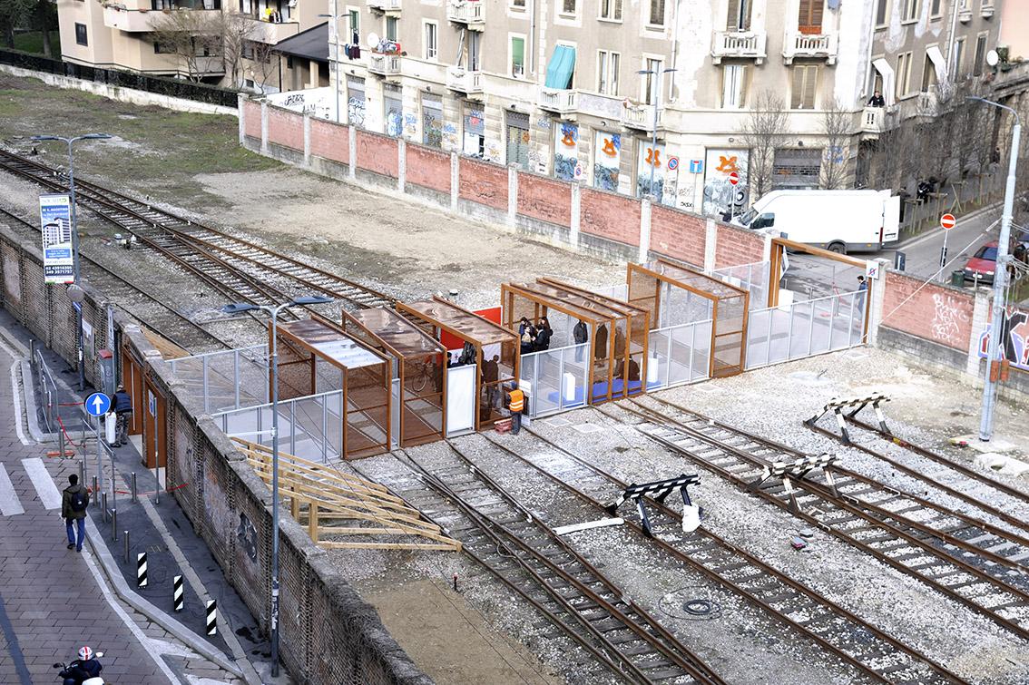 Milano porta genova inaugurato il nuovo passaggio - Carabinieri porta genova milano ...