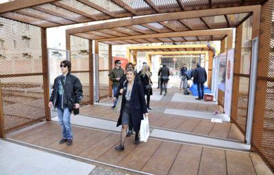 Presentazione alla stampa del passaggio ciclo-pedonale di Porta Genova