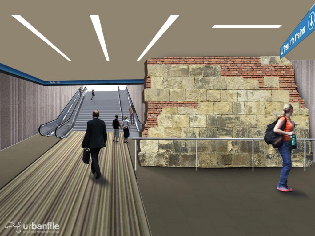M4_De_Amicis_Stazione_Muro_Medievale