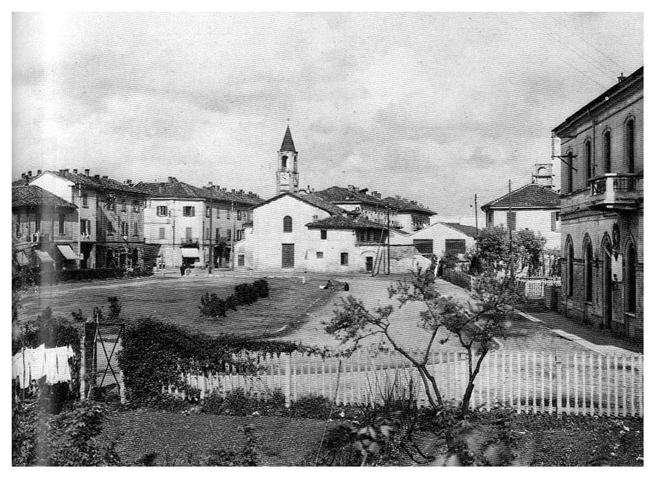 Ortica Santuario della Madonna delle Grazie o San Faustino, e stazione 1920-25