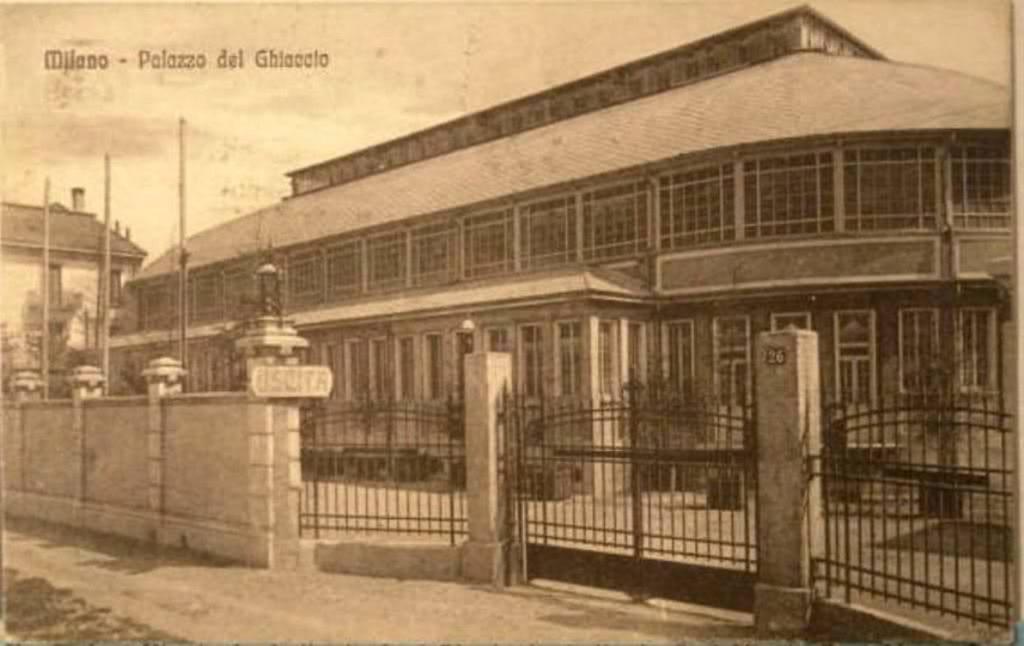 Palazzo del Ghiaccio - via Piranesi 1928-30