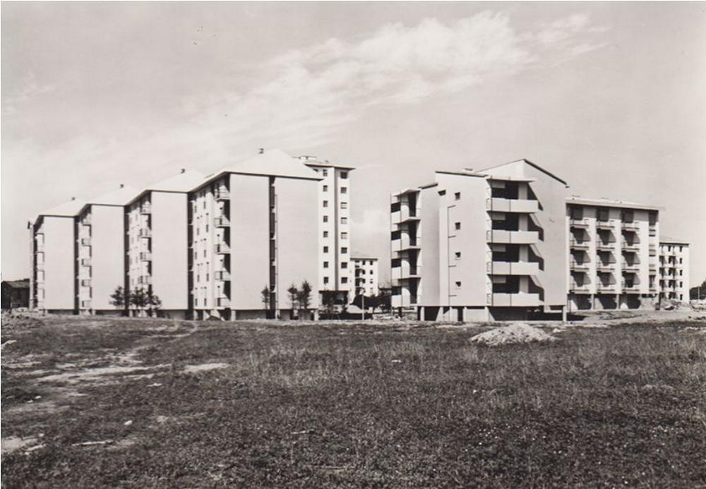Quartiere Comasina - Case dell'Istituto Autonomo Case Popolari 1958-59