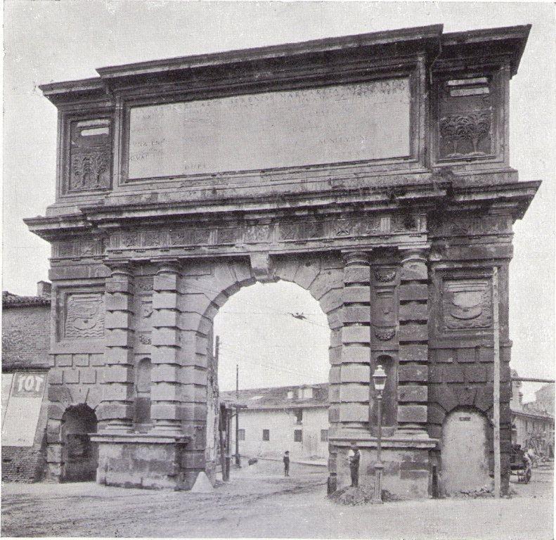 1898 Porta Romana L 39 Arco Del 1596 Urbanfile Blog
