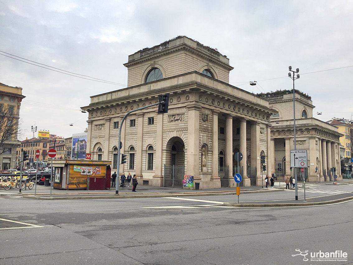 Milano porta venezia le porte di milano piazza for Corso di porta genova milano