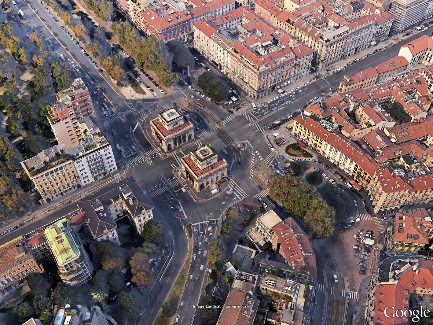 Milano | Porta Venezia - Le Porte di Milano: Piazza Oberdan ...