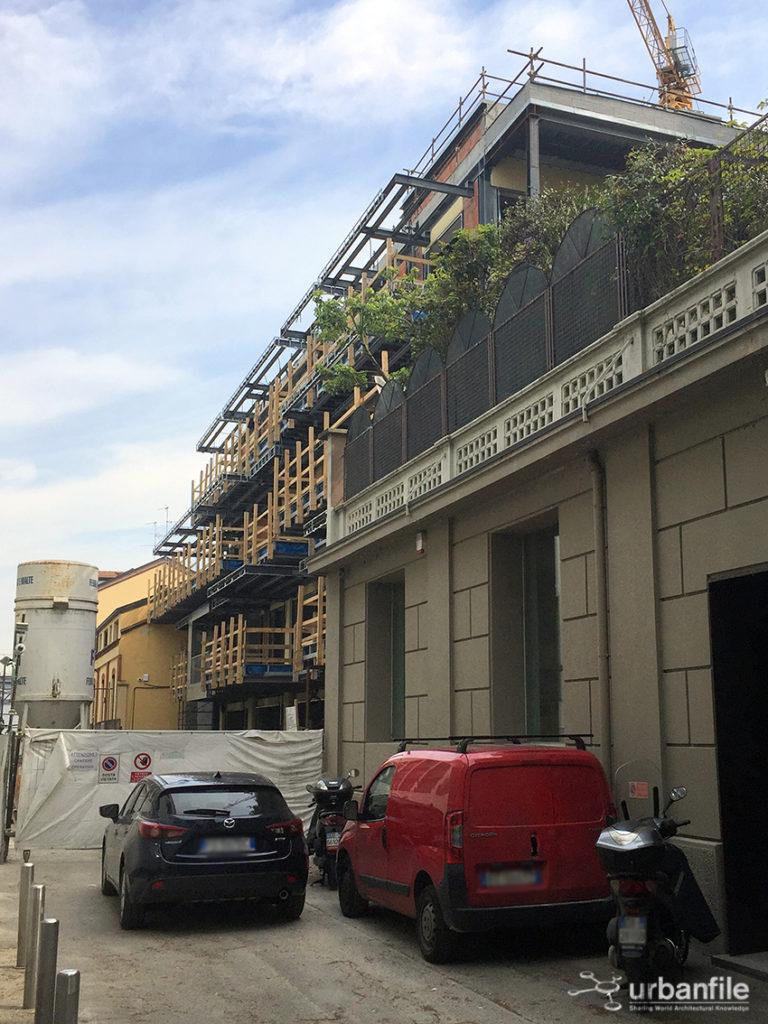 Milano zona tortona i moduli di via giorza 3 for Via tortona