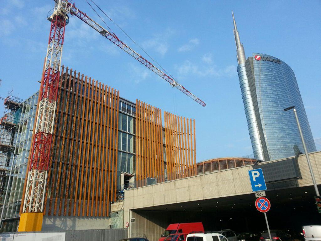 Milano porta nuova cantiere coima aprile 2017 - Via porta nuova milano ...