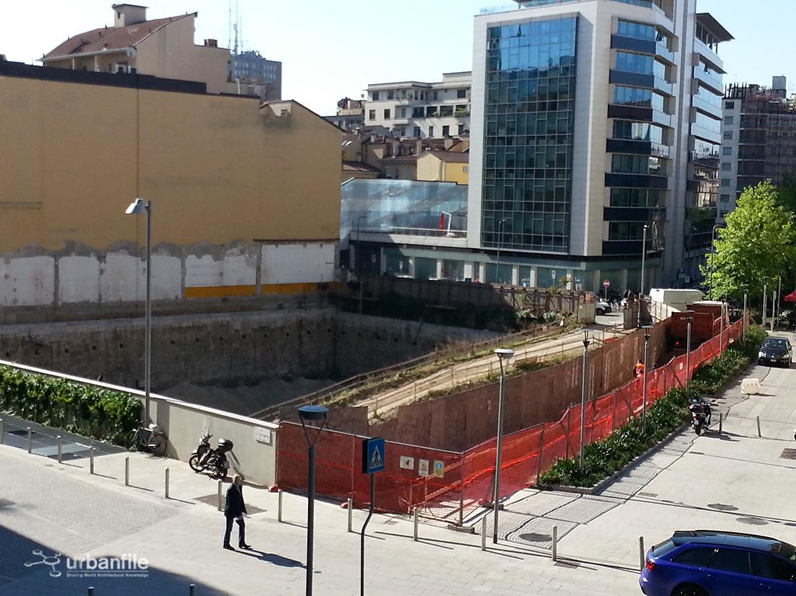 Milano porta nuova il cantiere di via marco polo - Via porta nuova milano ...