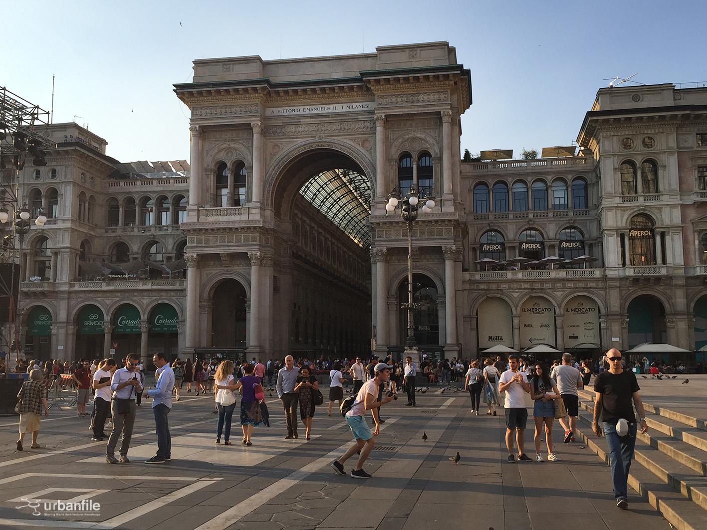 Milano Zona Duomo La Stanza Segreta Nell Arco Della