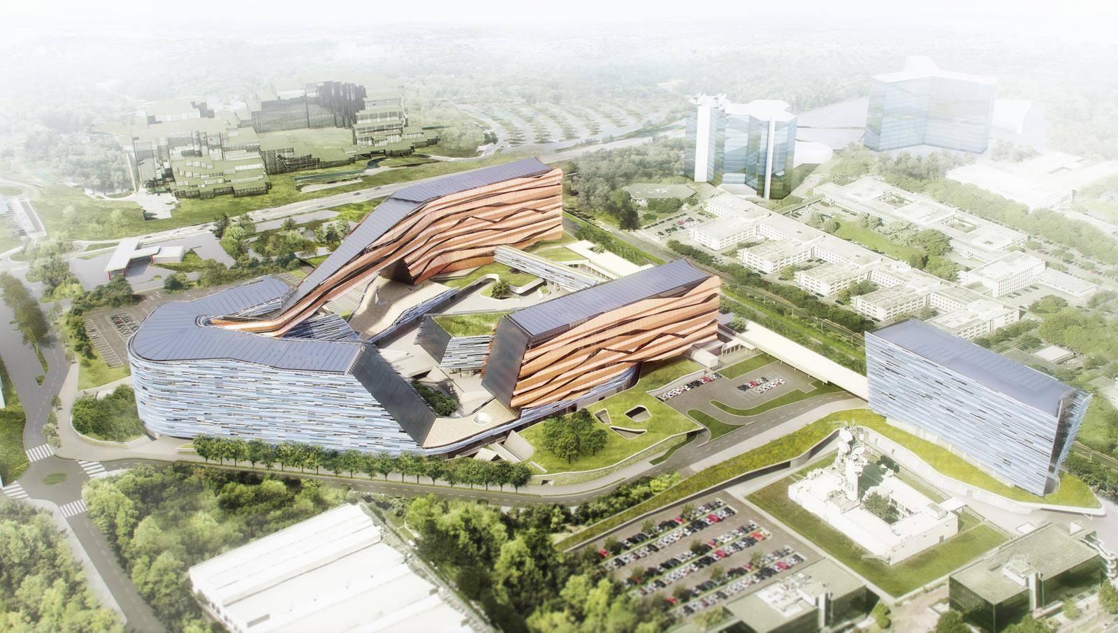 Milano metanopoli a marzo il cantiere per la nuova for Uffici a milano