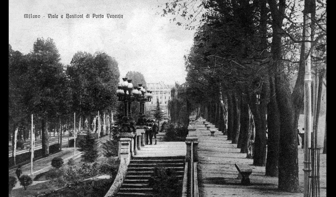 Milano delibera la memoria dei bastioni urbanfile blog - Bastioni di porta venezia ...