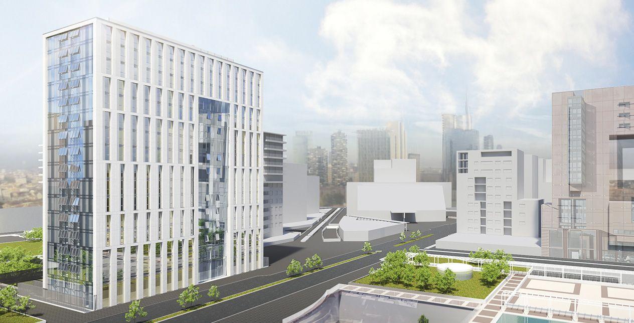 Milano bicocca ecco il monolite bianco di viale dell 39 innovazione urbanfile blog - Casa dell ottone milano ...