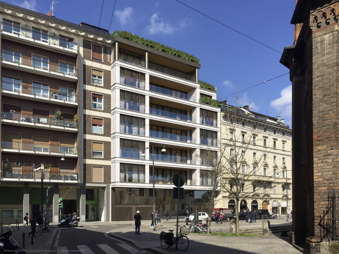 Milano porta garibaldi corso garibaldi 123 urbanfile for Case a milano