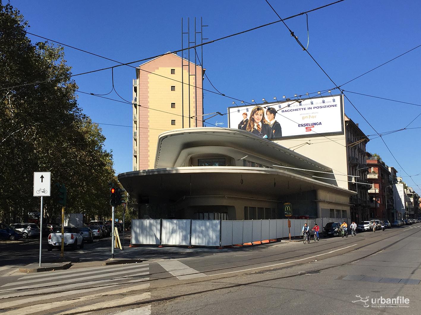 Milano cagnola piazzale accursio e il nuovo garage for Appoggiarsi all aggiunta al garage