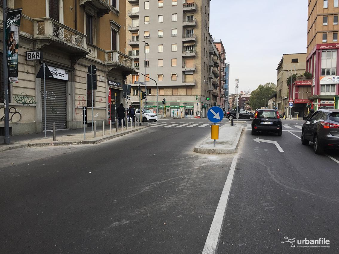 Milano centro direzionale nuovi marciapiedi all for Vie di milano