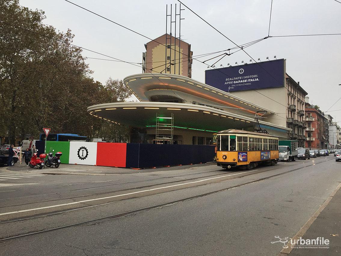 Milano cagnola ultimi ritocchi al garage italia urbanfile blog - Garage italia ristorante milano ...