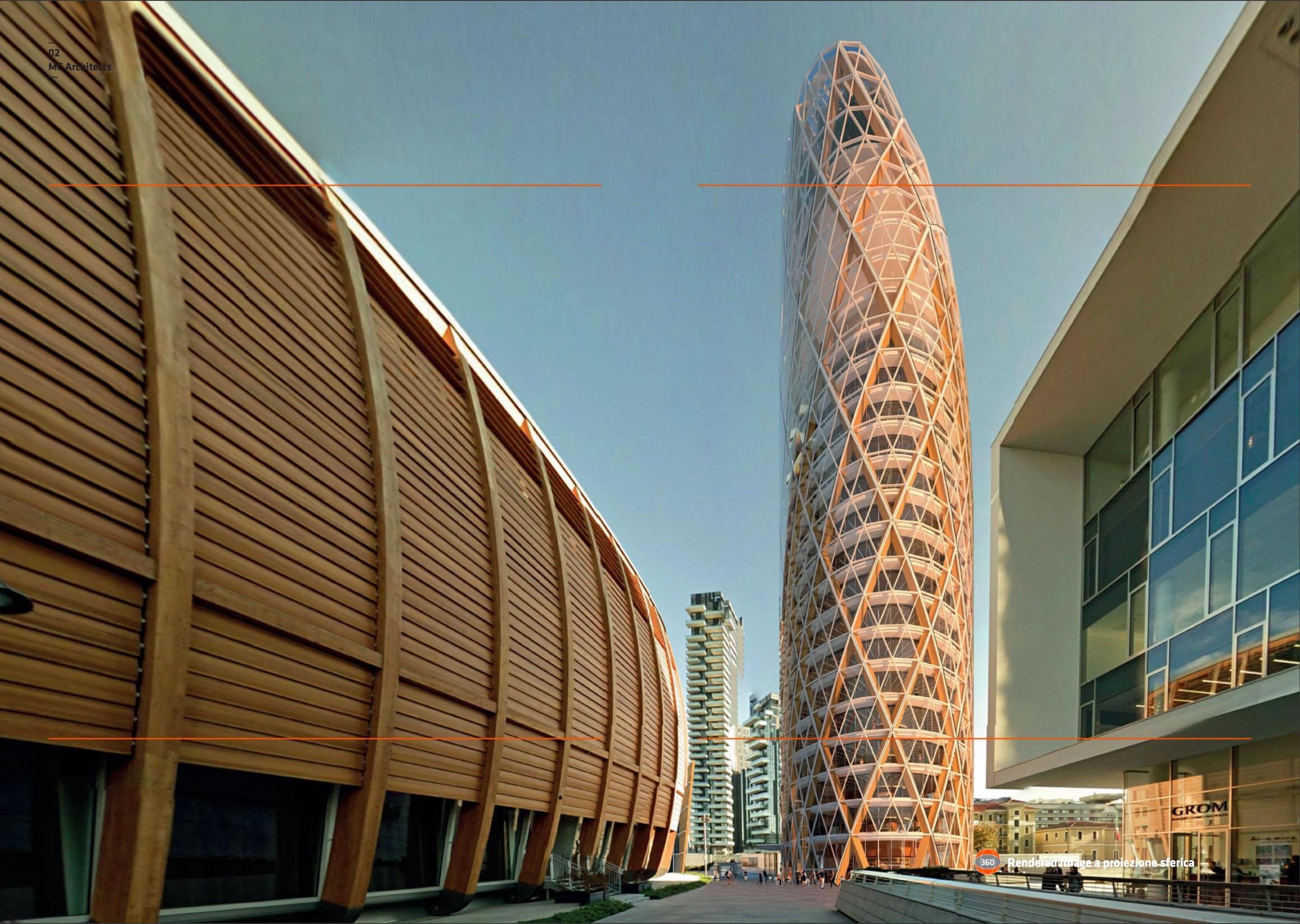 Milano porta nuova nuovi rendering della torre unipol for I nuovi grattacieli di milano