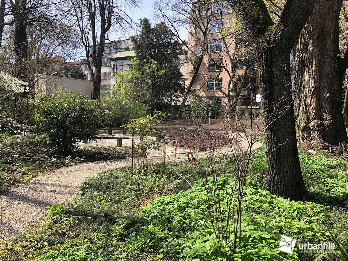 Milano brera u lavori di riqualificazione all orto botanico