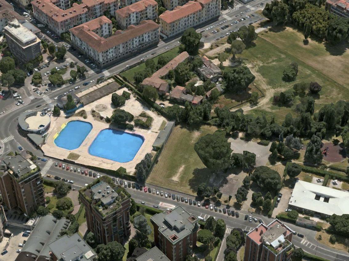 Milano navigli la cascina magolfa abbandonata e un parco che si potrebbe ingrandire - Piscina argelati ...