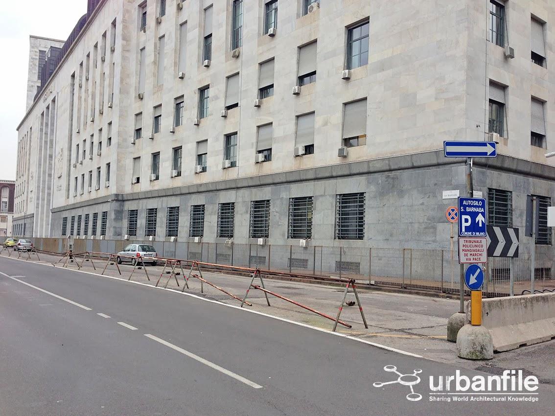 Milano porta vittoria siamo al confine o dietro al tribunale urbanfile blog - Via porta vittoria milano ...