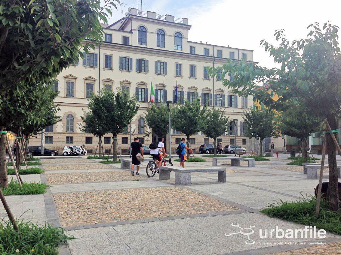 Milano | Porta Nuova - Lo spazio in via Moscova ...