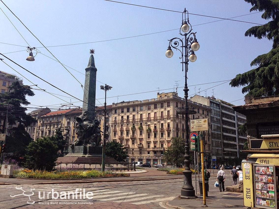 Milano Porta Vittoria Piazza 5 Giornate Il Decoro
