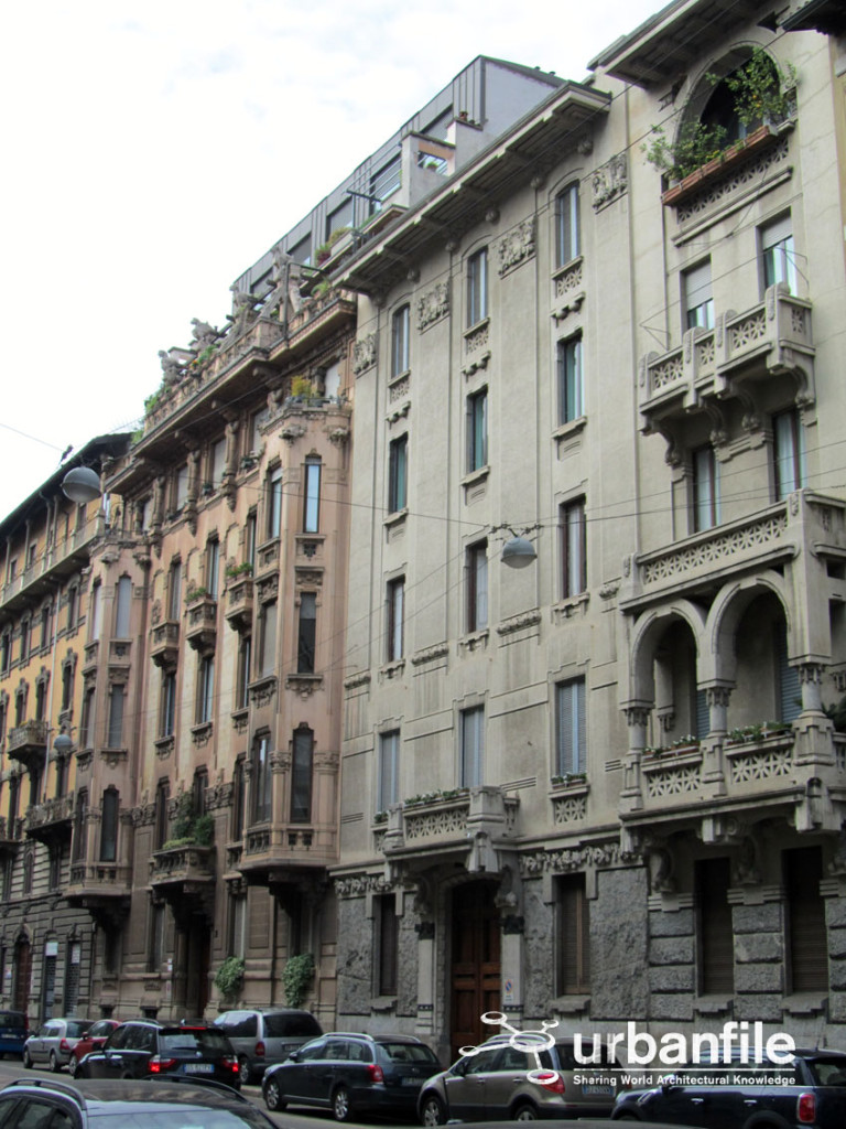 Via Mascheroni - Pagano