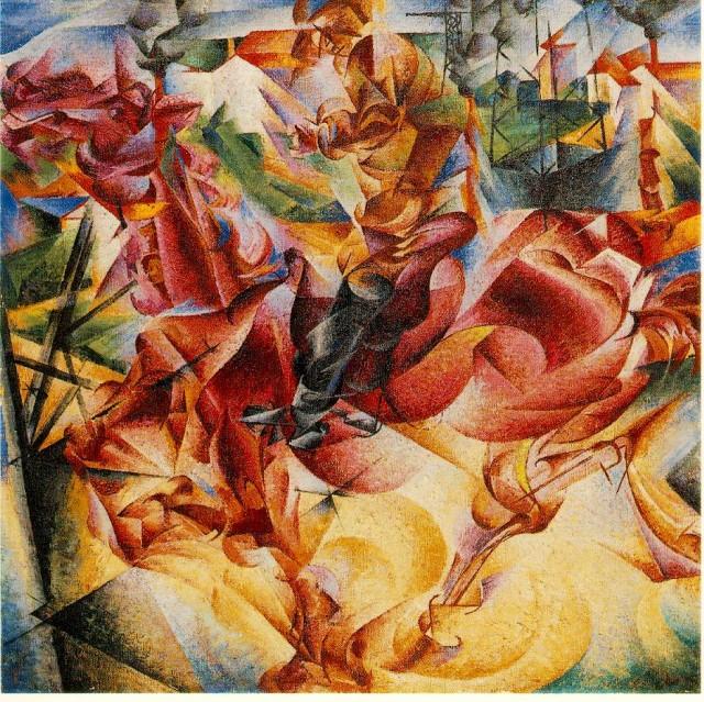 Umberto Boccioni - Elasticity