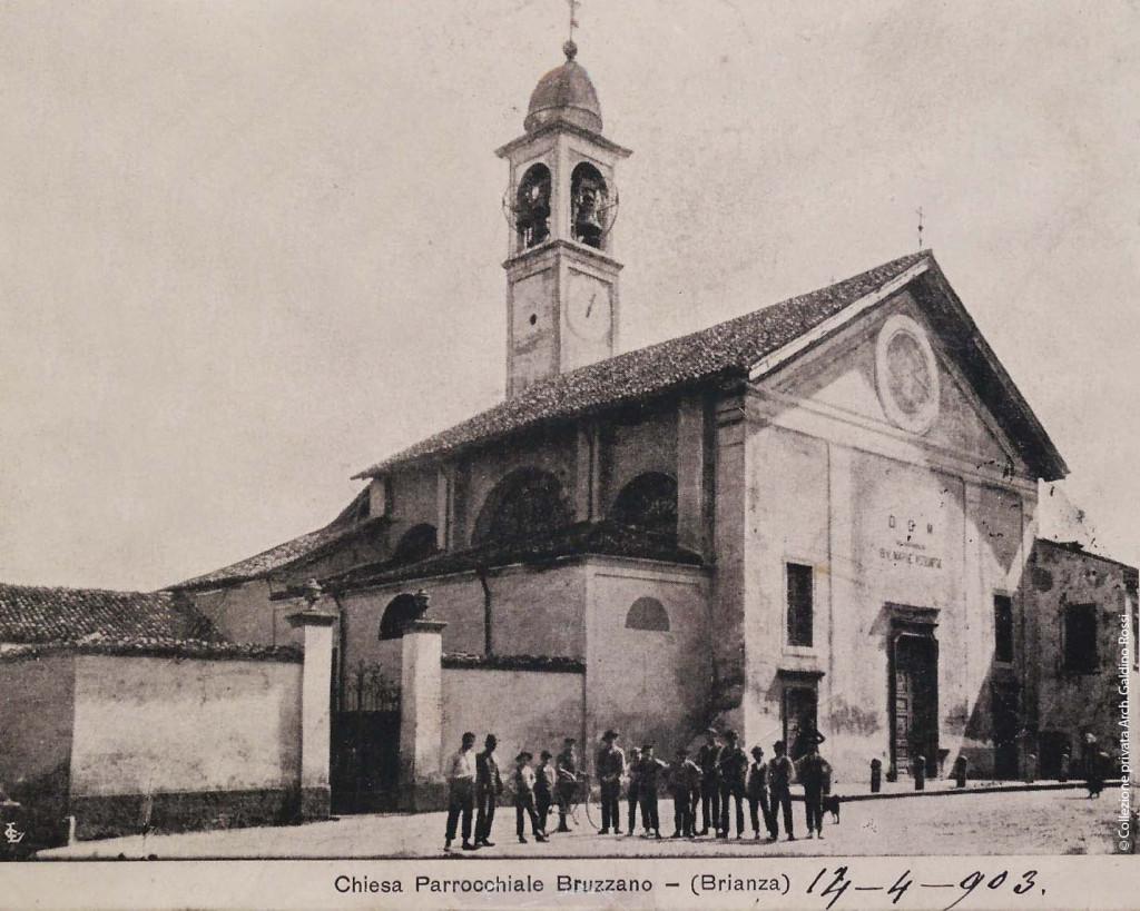 La chiesa della Beata Vergine Assunta nel 1900- 1903